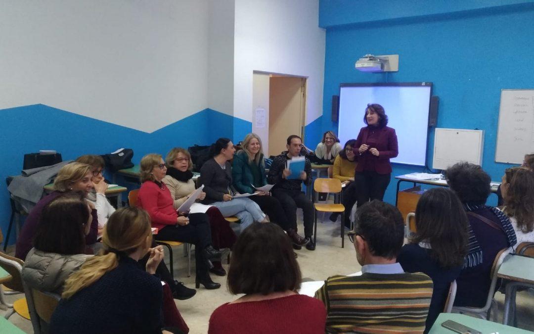 Peer to Peer Training, Teachers in action!